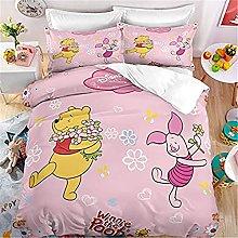 Aatensou Winnie the Pooh - Juego de ropa de cama