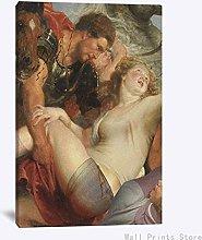 Aawerzhonda Póster de Lienzo Pintura de Arte