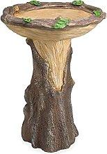 Abcidubxc Casa de árbol natural, nido, estatua de