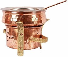 ABN Fashion - Juego de vajilla de cobre para
