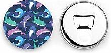 Abrebotellas redondos Dolphin / Imanes de nevera