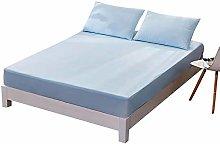 ABUKJM Funda de colchón impermeable, para niños,