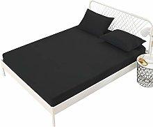 ABUKJM Protector de colchón impermeable, sábana