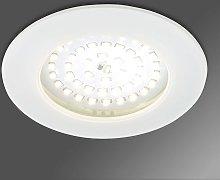 Acento foco empotrado LED Paul blanco