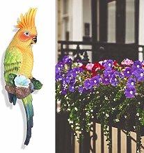 Adorno de pájaro de Resina para decoración de