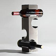 Adornos para estantes de Vino de Metal de Acero