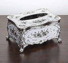 AERVEAL Portapapeles Caja de Pañuelos Acrílicos,