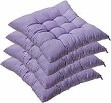 AGDLLYD 4 cómodos Cojines para Silla, Cojines de