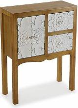 Agnette Mueble Recibidor Estrecho, Mesa Consola,