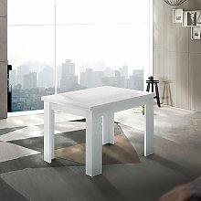 Ahd Amazing Home Design - Mesa extensible blanca
