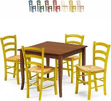 Ahd Amazing Home Design - Set 4 sillas y mesa