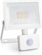 Aigostar 20W Foco LED con Sensor Movimiento