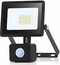 Aigostar 30W Foco LED con Sensor Movimiento,2700LM