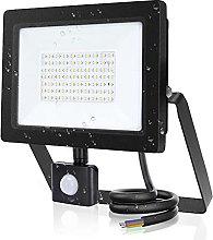 Aigostar 50W Focos LED Exterior con Sensor