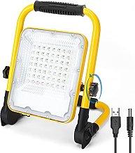 Aigostar Foco LED Bateria 30W,Foco LED Recargable