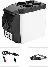 AILZNN 6L Mini Portátil Refrigerador del Coche,