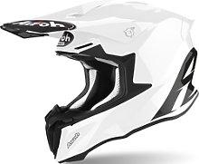 Airoh Twist 2.0 Color Casco de Motocross, blanco, L