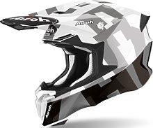 Airoh Twist 2.0 Frame Casco de Motocross, gris, XL