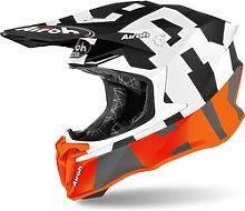 Airoh Twist 2.0 Frame Casco de Motocross, naranja,