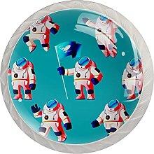 AITAI Cosmonaut - Pomo redondo para armario (4
