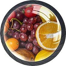 AITAI Juego de 4 pomos de puerta con mango