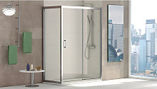 ALABAMA Mampara Angular de ducha, Easy Clean,