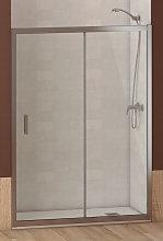 ALABAMA Mampara de Ducha Frontal, 100x195cm Easy