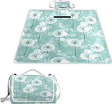 ALAZA Manta rectangular impermeable para picnic,