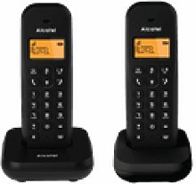 Alcatel E155 Duo Teléfono Dect/Analógico Negro