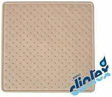 Alfombra Baño Antideslizante 54X54Cm Ducha Beige