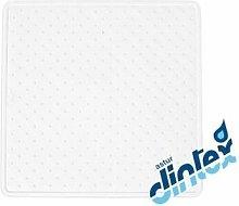 Alfombra Baño Antideslizante 54X54Cm Ducha Blanco
