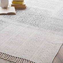 Alfombra de algodón 140 x 200 cm