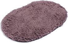 Alfombra de baño antideslizante de felpa