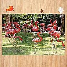 Alfombra de baño Antideslizante,Flamingo, Modelo