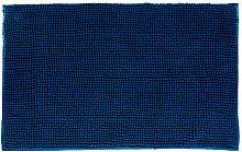 Alfombra De Baño Color Azul Marino - Neoferr..