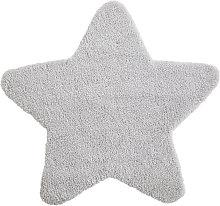 Alfombra de estrella gris 100x100