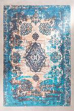 Alfombra de Exterior (185x120 cm) Tetuan Azul Cian