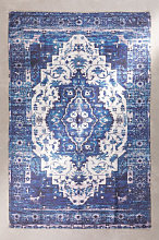 Alfombra de Exterior (190x120 cm) Tanger Azul Ken