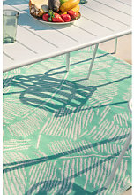 Alfombra de Exterior (240x150 cm) Nishe Verde