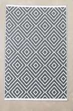 Alfombra de Exterior (270x180 cm) Neya Gris