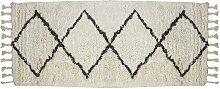 Alfombra de pasillo de estilo bereber MARCUS -