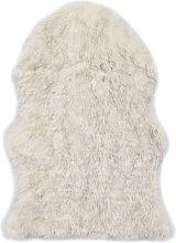 Alfombra de piel de oveja sintética mezcla de