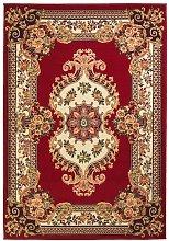 Alfombra oriental de estampado persa 160x230 cm