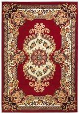 Alfombra oriental de estampado persa 80x150 cm