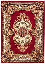 Alfombra oriental de estampado persa 80x150cm