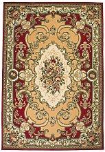 Alfombra oriental estampado persa 160x230 cm
