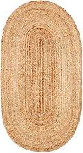 Alfombra Oval yute 100x200cm