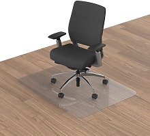 Alfombra protectora transparente para silla de