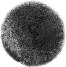 Alfombra Sintética Imitación de Piel de Cordero