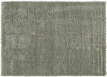 Alfombra verde grisáceo 160x230 cm PLUMA